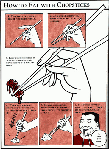 Chinese Table Manners amp Dining Etiquettes 171 Social Guide : eating with chopsticks from cultureofchinese.com size 366 x 500 jpeg 133kB