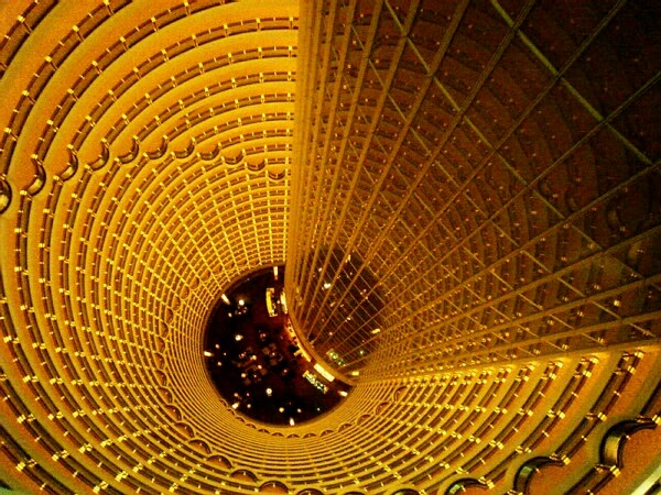 inner Jin Mao Tower