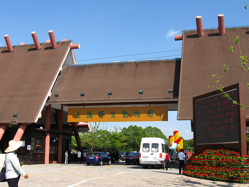 Shanghai Wild Animal Park_gate
