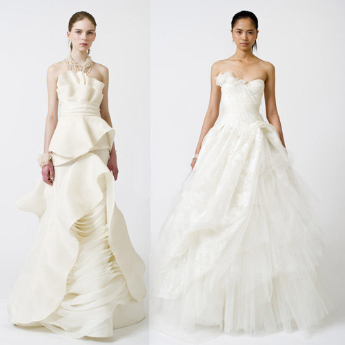 spring 2011-vera wang wedding dress