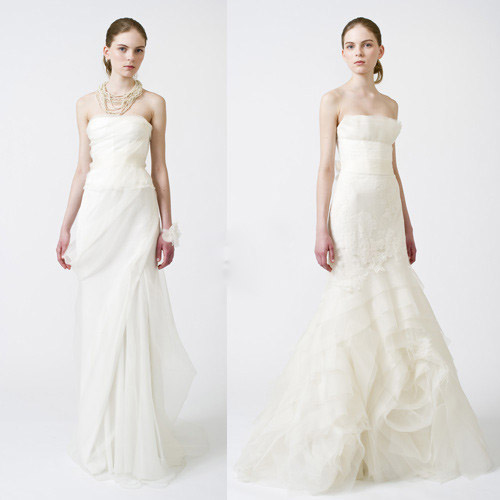 Vera wang renowned chinese american wedding dress designer fashion spring 2011 vera wang wedding dress junglespirit Gallery
