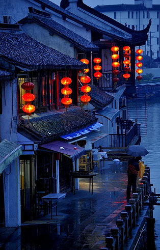 zhujiajiao_evening