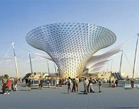 Expo 2010: The CentralAxis and FourPavilions