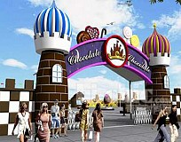 The World Chocolate Wonderland Theme Park in Beijing